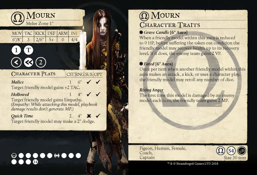 Mourn Card