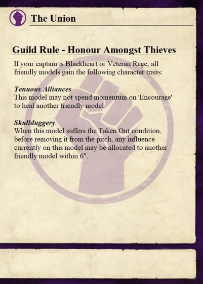 Guild Rule